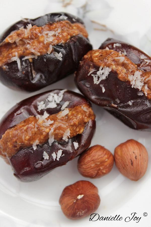 Cinnamon-Spiced Date Truffles | Danielle Joy