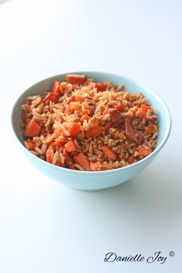 Sweet Potato Fried Rice | Danielle Joy