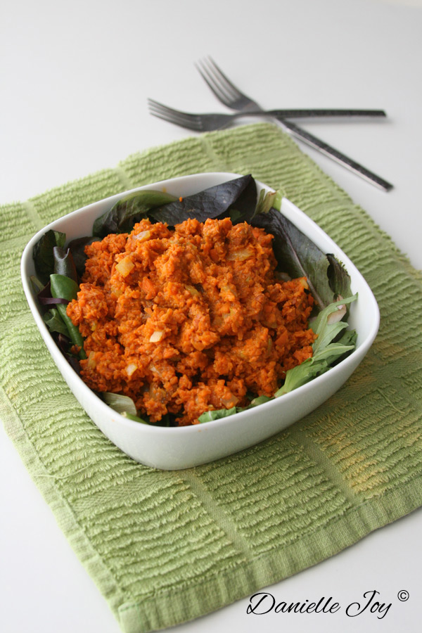 Sweet Potato Scramble | Danielle Joy